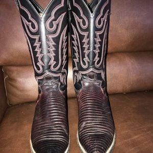 Justin Exotic Lizard Skin boots! Made in 🇺🇸 USA!